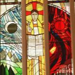 Stained glass window, Chapel, St Andrew's.