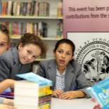 So that we foster a love of reading, each Year 7 student is given a free library book of their choice when they join The Grey Coat Hospital.