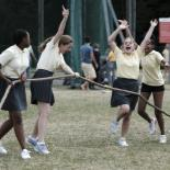 Sports day at Battersea Park